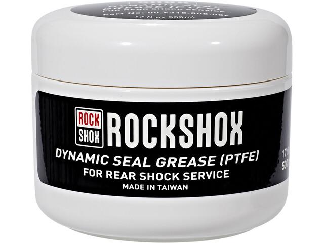 RockShox Rasva jousitustiivisteille 500ml , valkoinen/musta